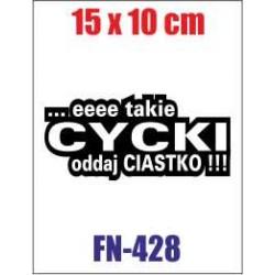 eeee Takie Cycki ODDAJ CIASTKO!!!