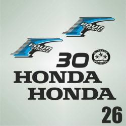 026 Naklejki na silnik | HONDA Four Stroke 30