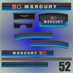 052 Naklejki na silnik Mercury Classic Fifty 50
