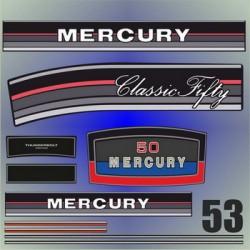 053 Naklejki na silnik Mercury Classic Fifty 50