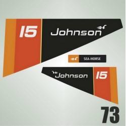 073 Naklejki na silnik Johnson 15