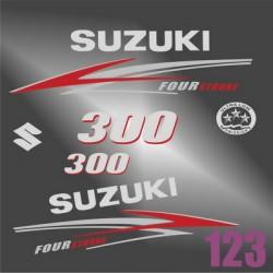 0122 SUZUKI Four Stroke 300