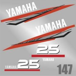 0147 Naklejki Yamaha 25