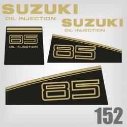 0152 Naklejki SUZUKI 85