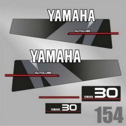 0154 Naklejki YAMAHA 30