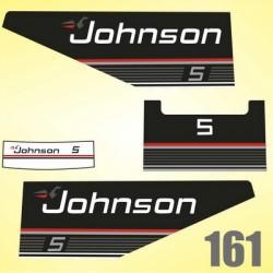 0161 Naklejki na silnik Johnson 5
