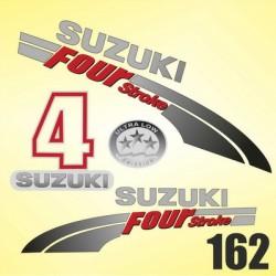 0162 Naklejki SUZUKI 4 Four Stroke