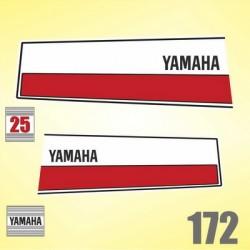 0172 Naklejki YAMAHA 25