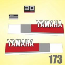 0173  Naklejki YAMAHA 30
