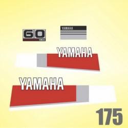 0175 Naklejki YAMAHA 60