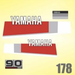 0178 Naklejki YAMAHA 30